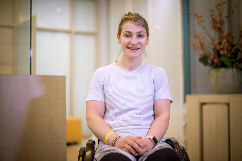 Die Radsportlerin Kristina Vogel ist seit einem Trainingsunfall im Sommer 2018 querschnittsgelähmt.