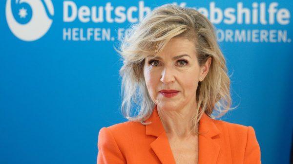 Anne-Sophie Mutter, neue Präsidentin der Deutschen Krebshilfe (Foto: Henning Kaiser/dpa)