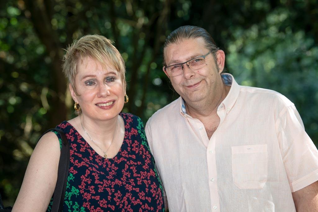 Corinna May mit ihrem Mann Claus Janz
