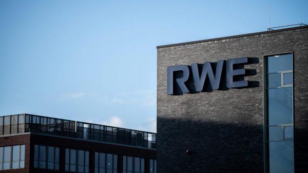 Beschäftigte prozentual die meisten Schwerbehinderten: Die RWE AG mit Sitz in Essen.