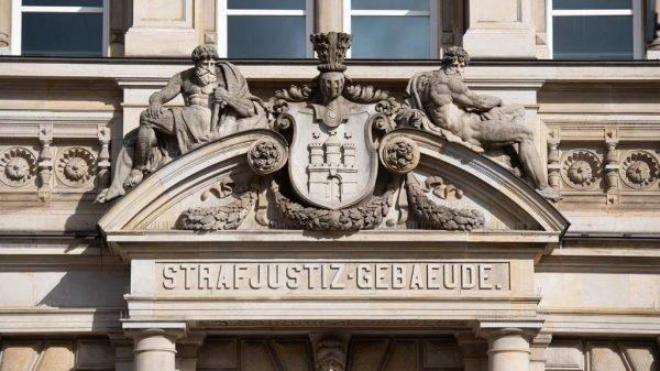 Fassade Landgericht Hamburg