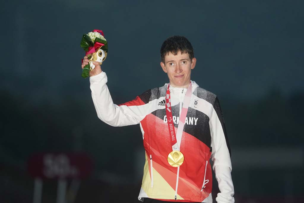 Jana Majunke mit Goldmedaille