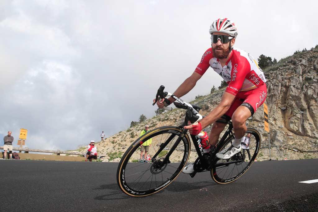 Simon Geschke auf seinem Rad.
