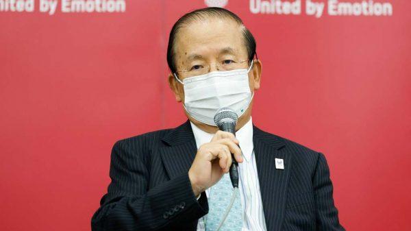 Toshiro Muto auf der Pressekonferenz