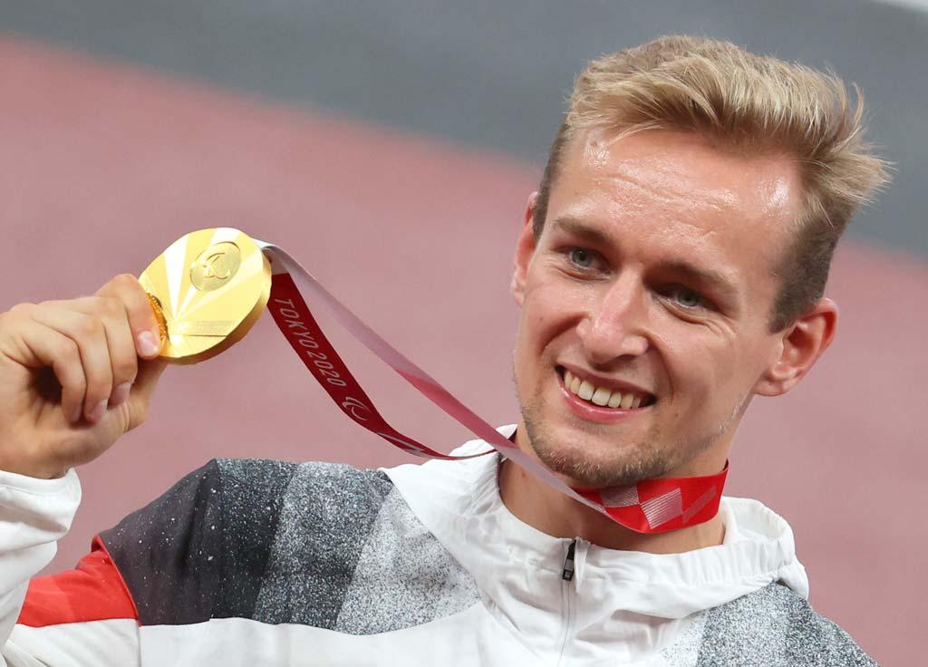 Johannes Floors mit Goldmedaille