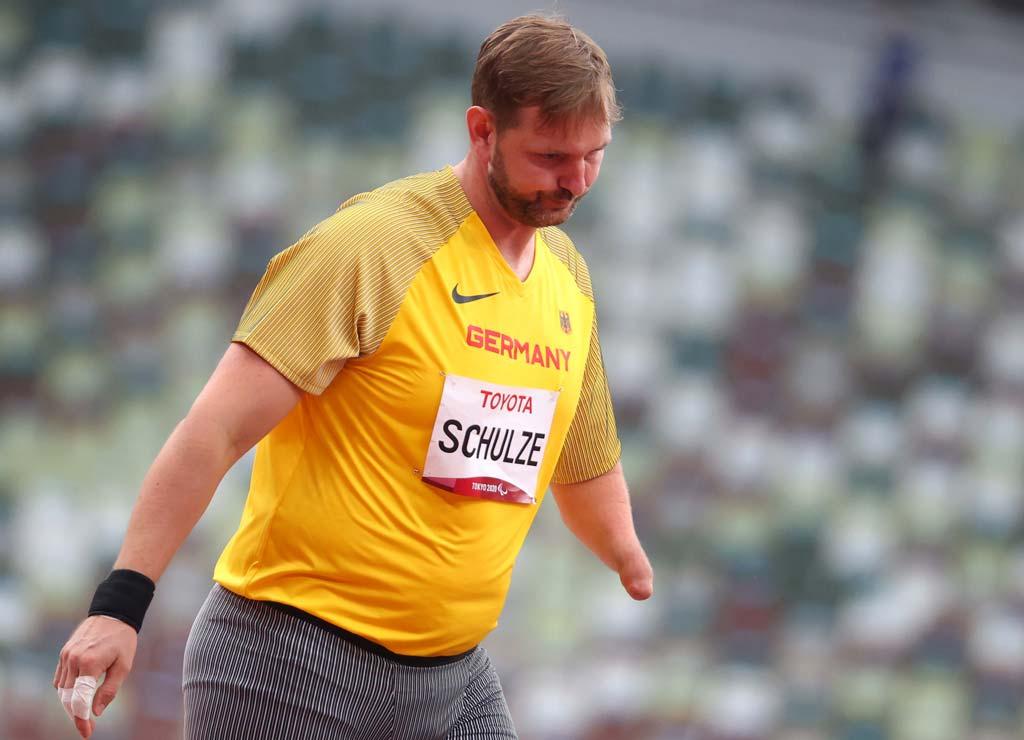 Mathias Schulze aus Deutschland reagiert enttäuscht.