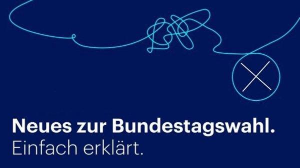 Logo von Neues zur Bundestagswahl - Einfach erklärt