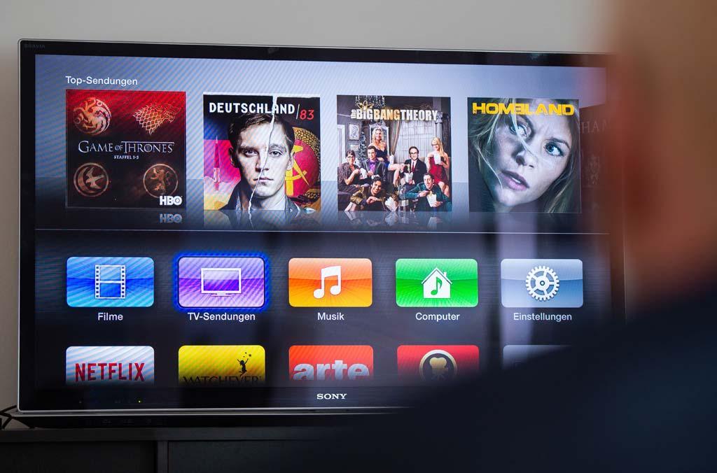 Smart TV-Menü