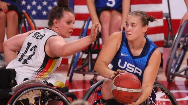 Spiel Paralympics 2020 um Bronze - Deutschland gegen die USA