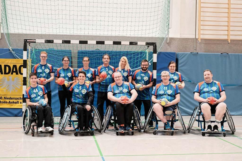 Gruppenfoto der Mannschaft