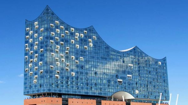 Die Elbphilharmonie in Hamburg.