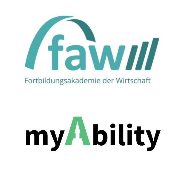 Logos faw und myAbility